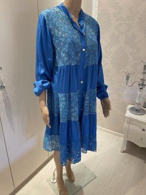 Kleid mit spitze seide viscose einheitsgrösse neu mit Etikett