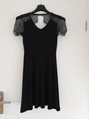 Anna Field Robe en dentelle noir