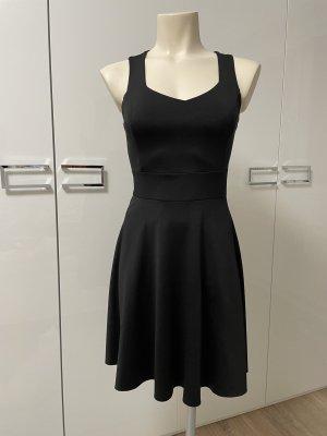 100% Fashion Kanten jurk zwart
