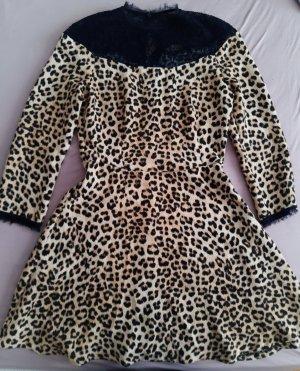Kleid mit Spitzenelemente Zara Gr XS