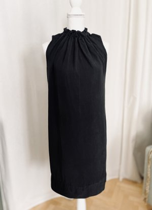 Halter Dress anthracite-dark grey lyocell
