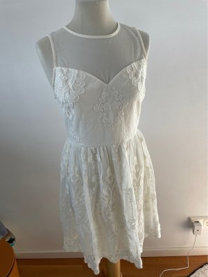 Forever 21 Lace Dress natural white