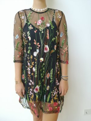 YOINS Koronkowa sukienka Wielokolorowy