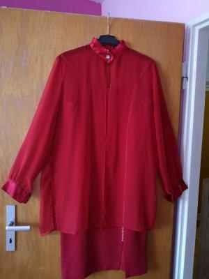 Avanti Midi Dress red