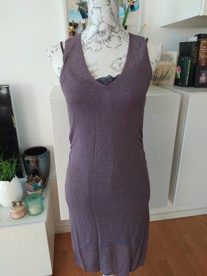 Tube Dress grey violet
