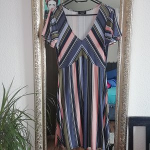 Yessica Empire Dress pink-slate-gray