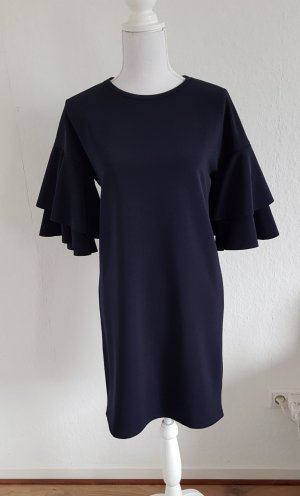 Kiomi Flounce Dress dark blue