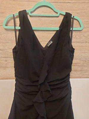 Page one Vestido de chifón negro