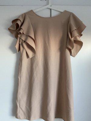 Kleid mit Volants-Ärmeln