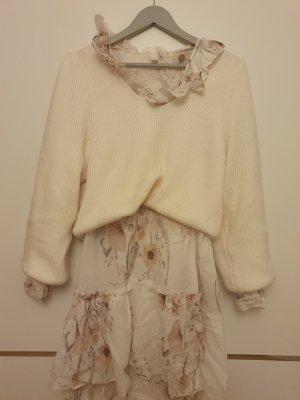 Kleid mit Volants Blumenprint Flowers H&M Größe M 38