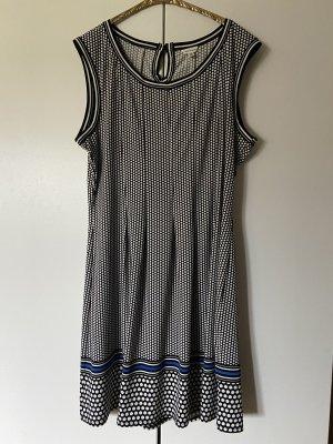 Kleid mit weißen Pünktchen von Max Studio XXL