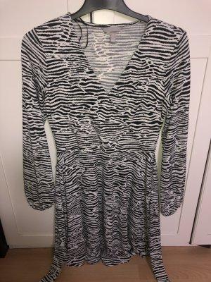 H&M Balloon Dress white-black