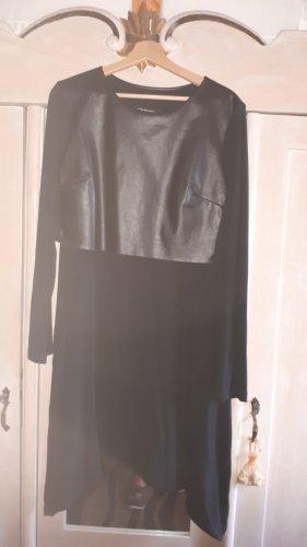 European Culture Vestido tipo túnica negro