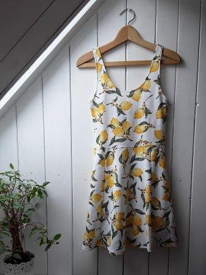 Kleid mit Zitronen von H&M