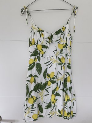 Kleid mit Zitronenmuster