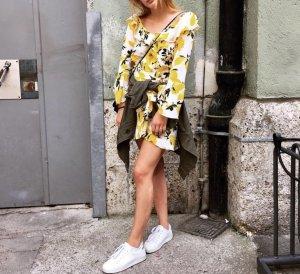 Kleid mit Zitronenprint