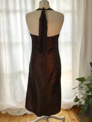 Halter Dress brown red