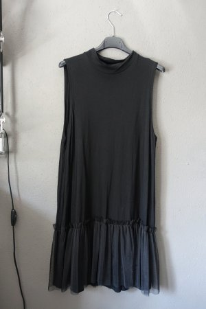 Monki Mini Abito nero Lyocell