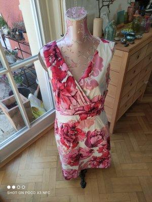 More & More Sukienka midi Wielokolorowy Bawełna