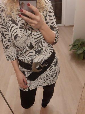 Kleid Muster Soyaconcept Blätterdruck