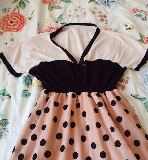 Kleid MydearLove mit abgesetztem Saum colourblocked