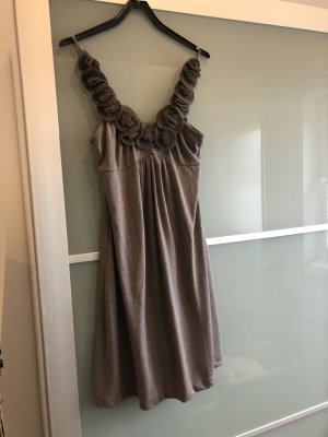 Fashion Elle Robe en jersey gris