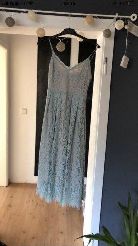 H&M Lace Dress pale blue