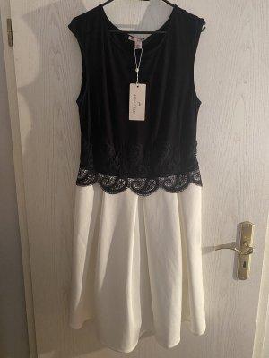 Anna Field Robe de soirée noir-blanc