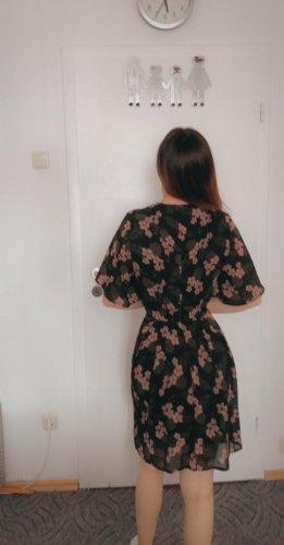 blue vanilla Longsleeve Dress black-pink mixture fibre