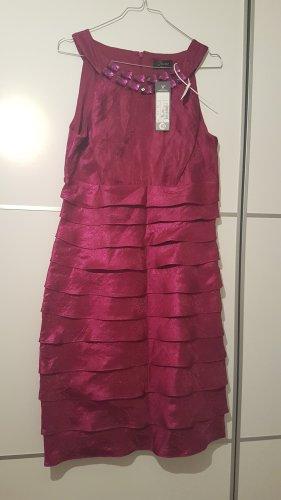 C&A Suknia wieczorowa fioletowy Tkanina z mieszanych włókien