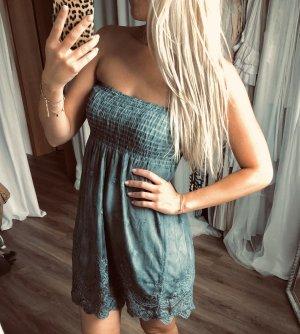 Babydoll Dress slate-gray