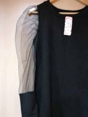 100% Fashion Mini vestido negro