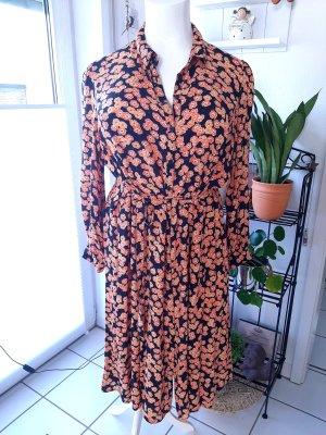 C&A Yessica Midi Dress multicolored viscose