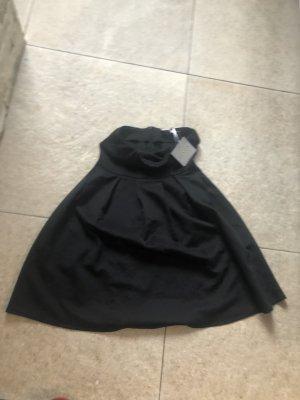 Bandeau Dress black mixture fibre