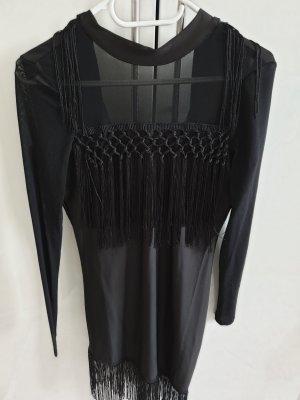 Kleid NEU schwarz mit Etikett xs