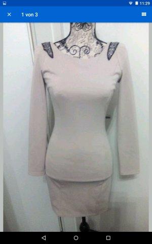 Kleid nude woman top