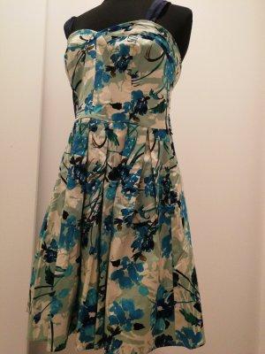 Oasis Sukienka z halką Wielokolorowy