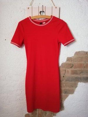 0039 Italy Abito felpa rosso