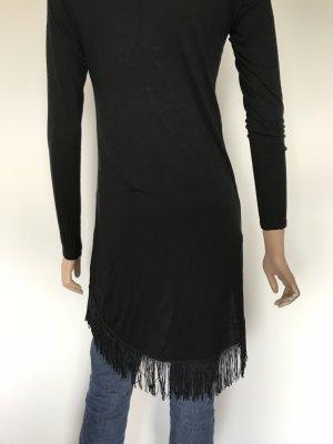 Amisu Fringed Dress black