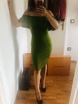 Kleid olivgrün