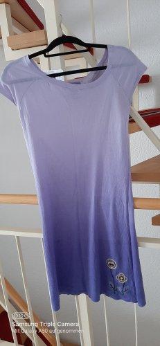 Only Vestido de tela de sudadera púrpura-violeta grisáceo