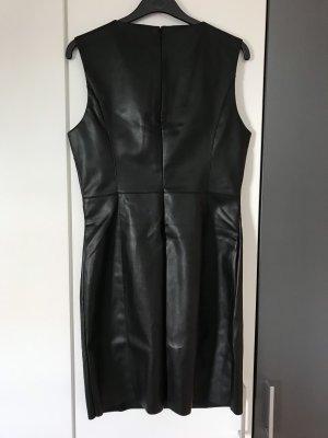 Only Vestito in pelle nero