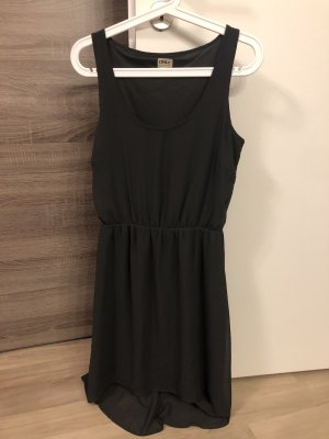 Only High Low Dress dark grey