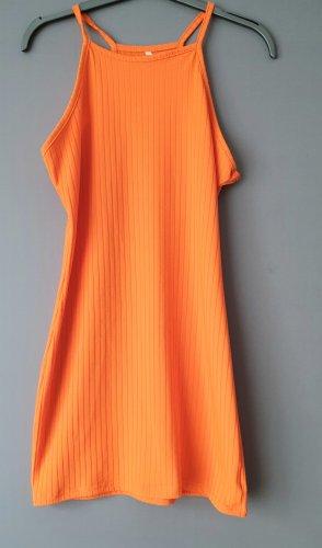 kleid orange