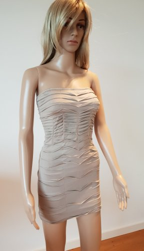 Kleid Partykleid Raffung Mini Bodycon Figurbetontkleid Gogo Sommerkleid