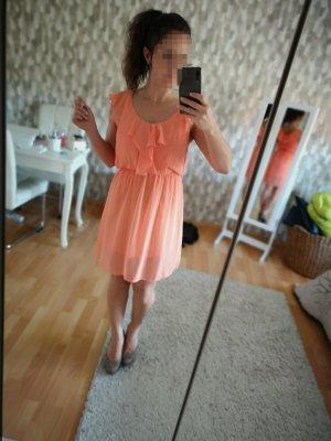 Kleid Peach Größe XS