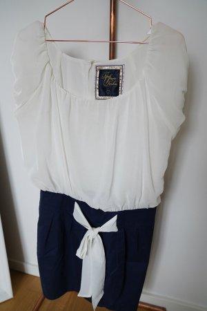 Kleid Pepe Jeans navy-weiß