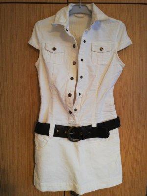 Vestido vaquero blanco 780968919A09 | Pimkie