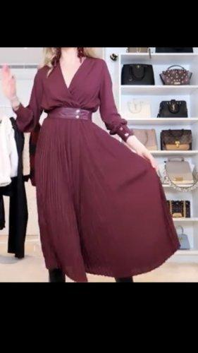 Kleid Plissiert  mit Druckknöpfen