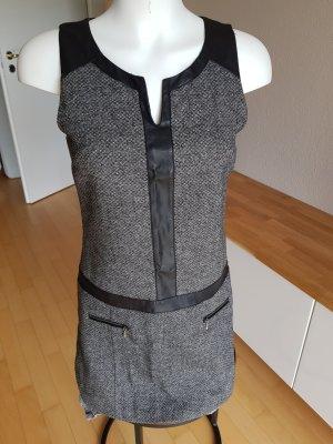 Promod Wollen jurk grijs
